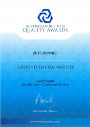 Autralian Business Quality Award - 